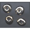 Ceramic Beads Silver